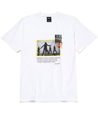 HUF DEATH LIST S/S TEE - WHITE