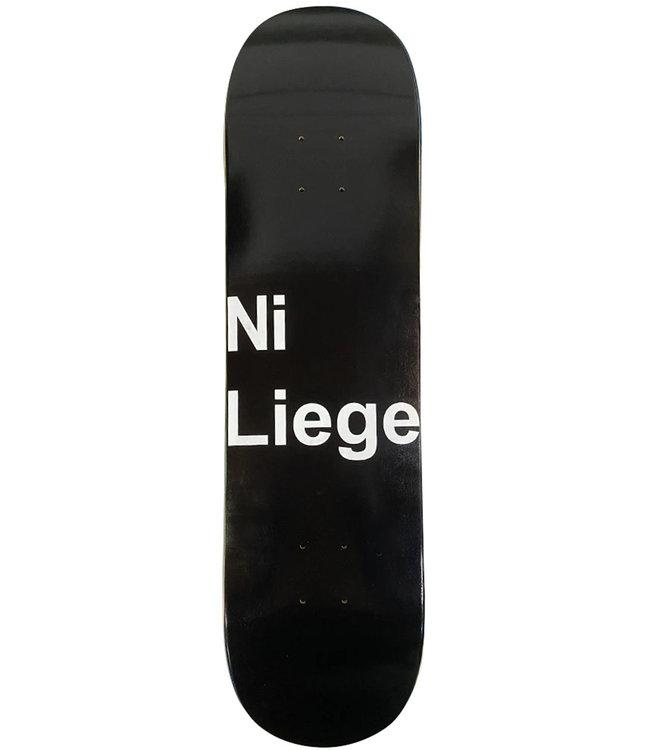 LOVENSKATE Lovenskate X Ni Liege Deck Black - 8.0