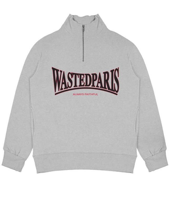 WASTED PARIS CREW FUNNEL CASUALS - ASH GREY