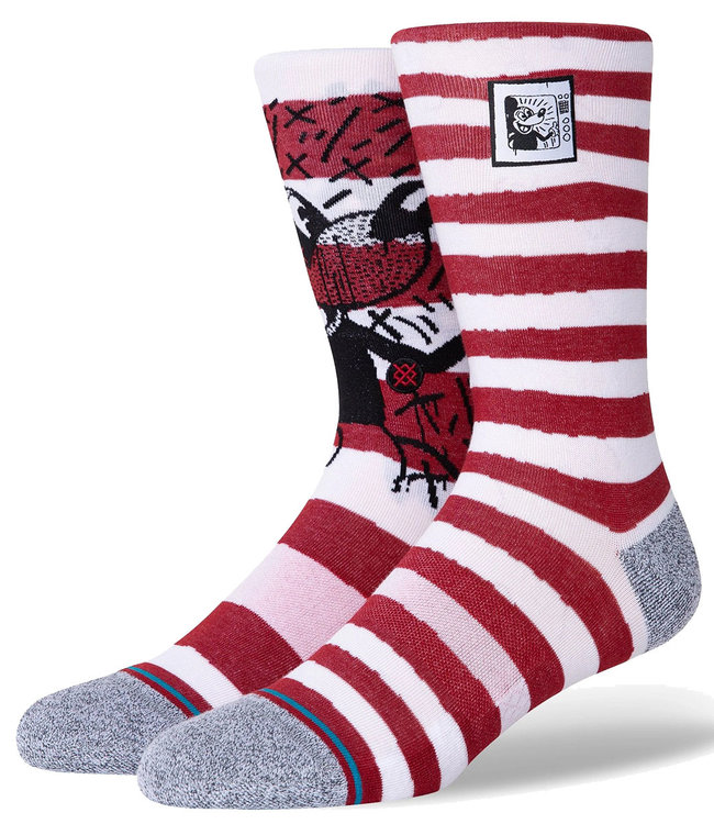 STANCE MICKEY TV HARING MIX - RED