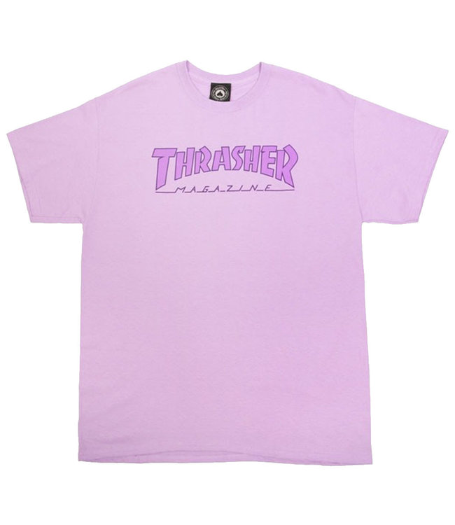 OUTLINED T-SHIRT - ORCHID