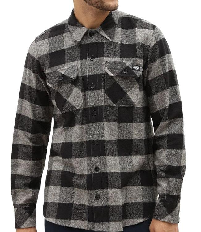 DICKIES New Sacramento Shirt - Grey Melange