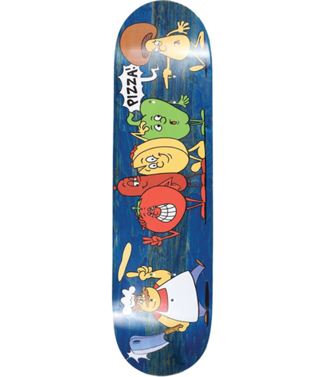 PIZZA SKATEBOARDS RAYMOND DECK - 8.25