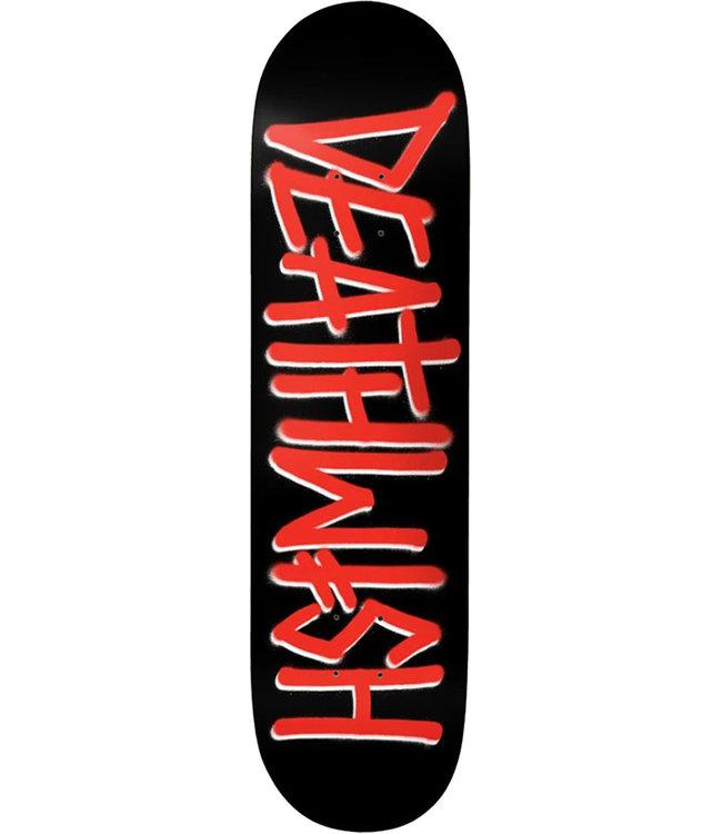 DEATHWISH DEATHSPRAY DECK BLACK/RED - 8.25