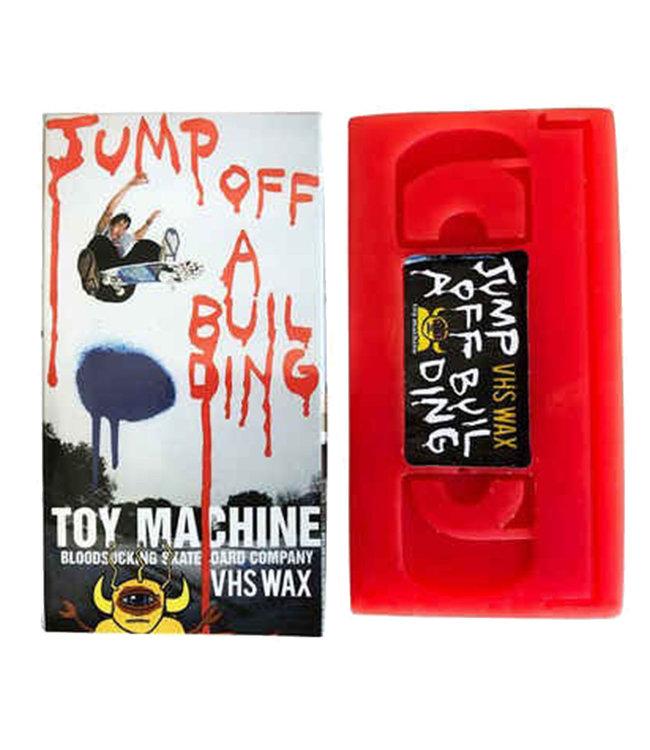 TOY MACHINE WAX VHS JUMP OFF A BUILDING
