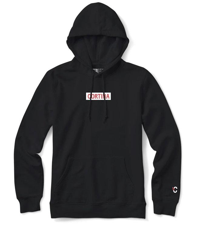CORTINA Box Logo Hood - Black
