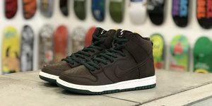 Nike SB Dunk High Pro Baroque Brown Raffle