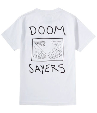 DOOM SAYERS SNAKE SHAKE TEE - WHITE