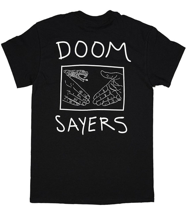 DOOM SAYERS SNAKE SHAKE TEE - BLACK