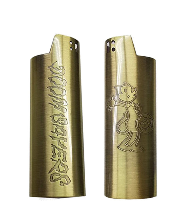 DOOM SAYERS FISH HEAD LIGHTER SLEEVE - COPPER