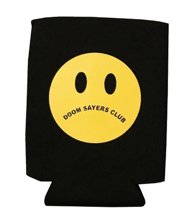 DOOM SAYERS UN HAPPY FACE COOZIE - BLACK/YELLOW