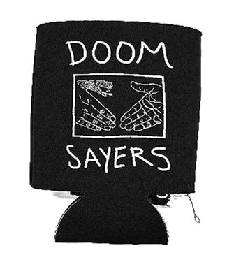 DOOM SAYERS SNAKE SHAKE COOZIE - BLACK/WHITE