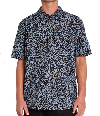VOLCOM STRIVER S/S - CHINA BLUE