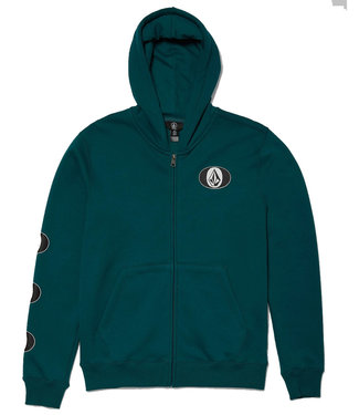 VOLCOM STONE STACK ZIP - SPRUCE GREEN