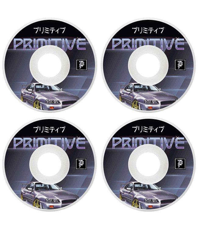 PRIMITIVE RPM TEAM WHEEL WHITE - 54MM