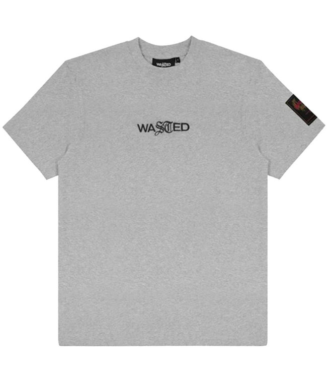 WASTED PARIS T-SHIRT ESSENTIAL - ASH GREY