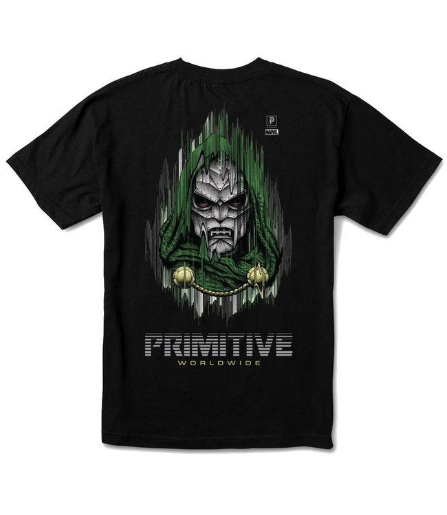 PRIMITIVE MARVEL X PJ DOOM TEE - BLACK