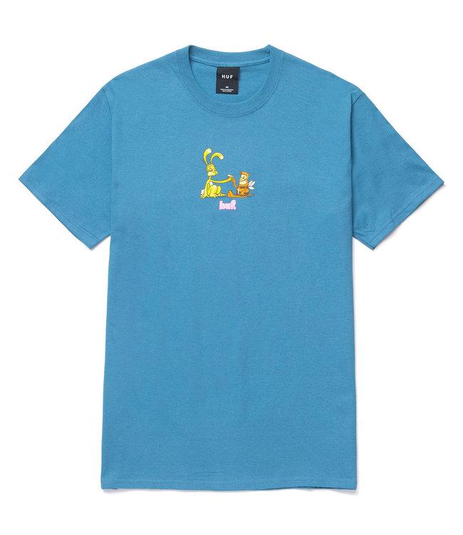 HUF BEST FRIENDS S/S TEE - COLUMBIA BLUE