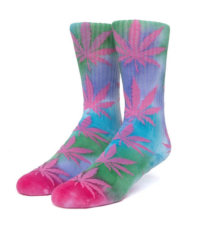 HUF Drip Dye Plantlife Sock - Pink