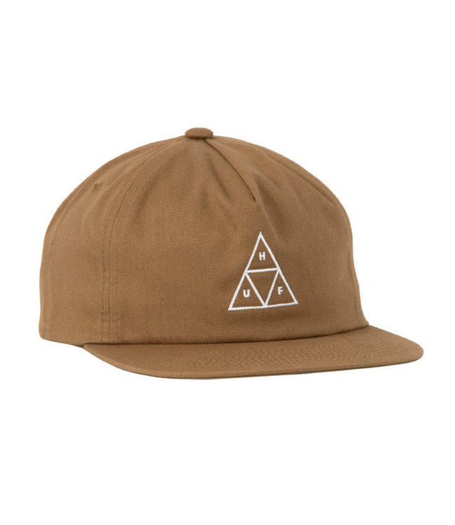 HUF ESS UNSTRUCTURED TT SNAPBACK - TOFFEE