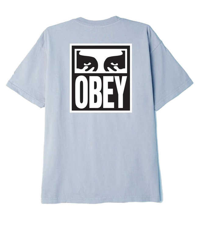 OBEY OBEY EYES ICON 2 TEE -GOOD GREY