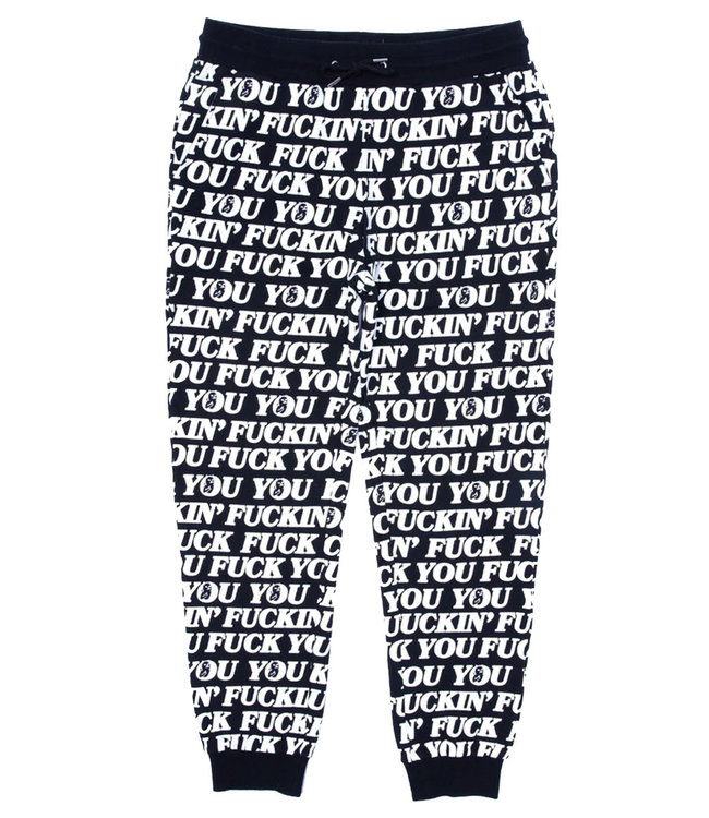 RIPNDIP FUCK YOU SWEATPANTS - BLACK