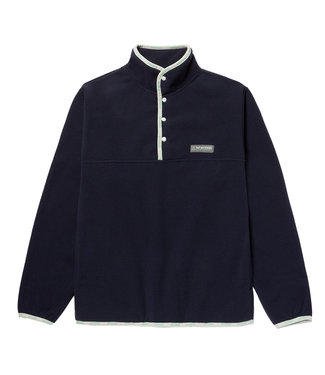 HUF BAXTER POLAR FLEECE - NAVY BLAZER