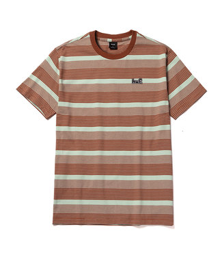 HUF BERKLEY STRIPE S/S KNIT TOP - MINT
