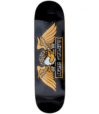 LOSER MACHINE ALLEYWAY DECK BLACK - 8.5