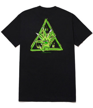 HUF GREEN BUDDY TT S/S TEE - BLACK
