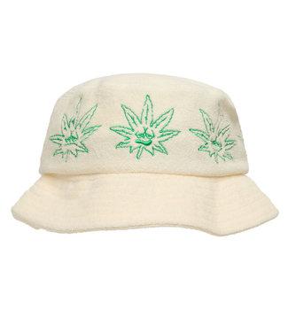 HUF GREEN BUDDY TERRY CLOTH BUCKET - NATURAL