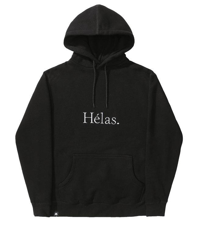 HELAS CLASS HOODIE - BLACK