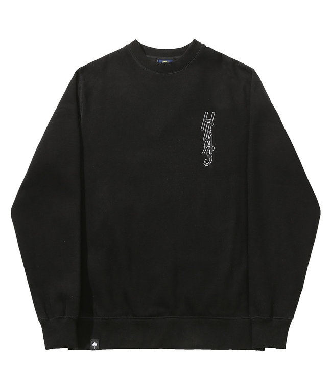 HELAS SAINT CREWNECK - BLACK