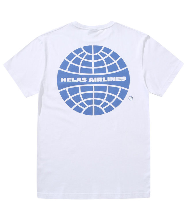 HELAS AIRLINES TEE - WHITE