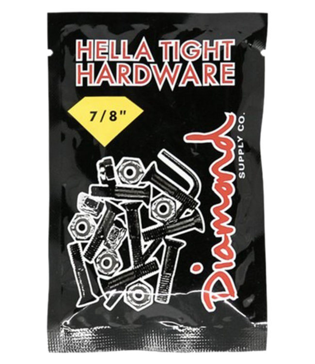 "DIAMOND DIAMOND HELLA TIGHT HARDWARE 7/8"" - GOLD"