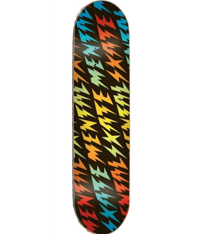 SKATE MENTAL BOLTS DECK BLACK - 8.25
