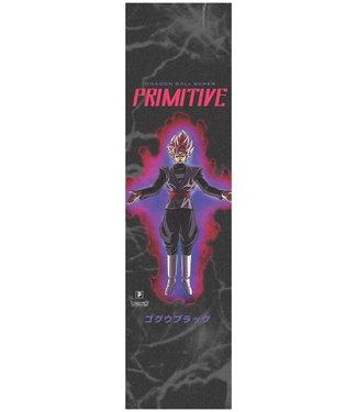 PRIMITIVE GOKU BLACK ROSE GRIPTAPE - BLACK