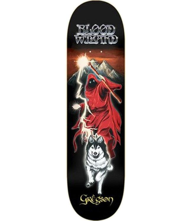 BLOOD WIZARD GREGSON LONE WOLF DECK BLACK - 8.625
