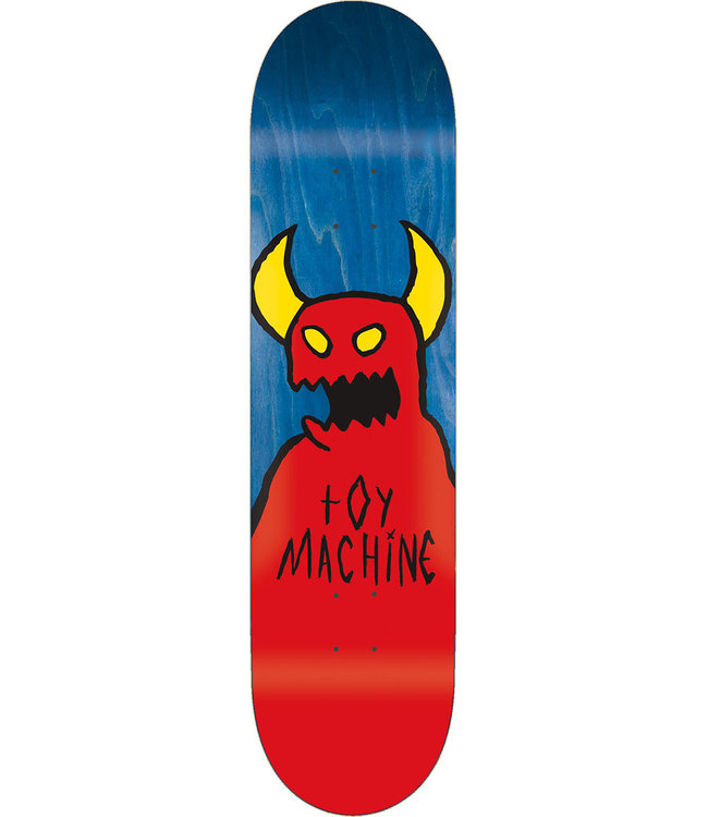 TOY MACHINE SKETCHY MONSTER DECK - 8.0