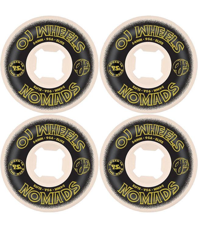 OJ WHEELS ELITE NOMADS WHITE - 95A 54MM
