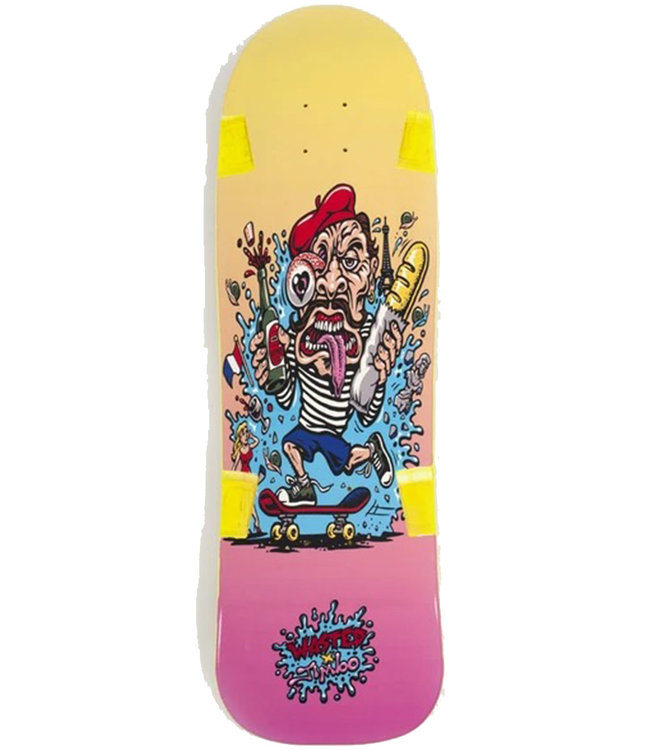 WASTED PARIS WASTED X JIMBO PHILLIPS FRENCH CLICHE DECK - 9.0