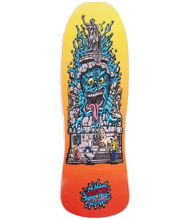 WASTED PARIS WASTED X JIMBO PHILLIPS REPU MONSTER DECK - 9.375