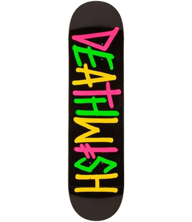 DEATHWISH Deathspray Multi Og Deck Black/Pink/Green/Yellow - 8.0