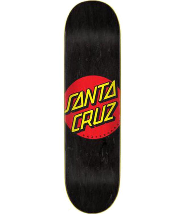SANTA CRUZ CLASSIC DOT DECK BLACK - 8.25