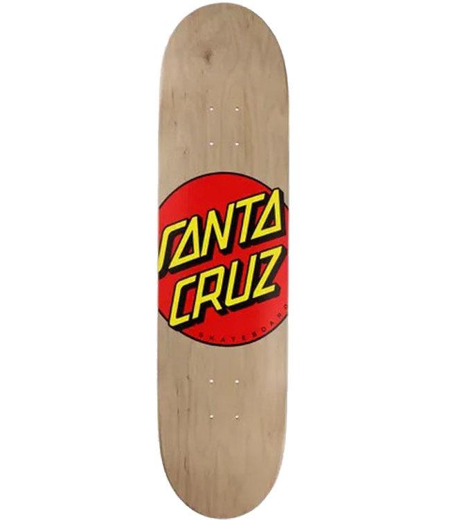 SANTA CRUZ CLASSIC DOT DECK BROWN - 8.375