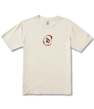 VOLCOM POSTED S/S TEE - WHITE FLASH