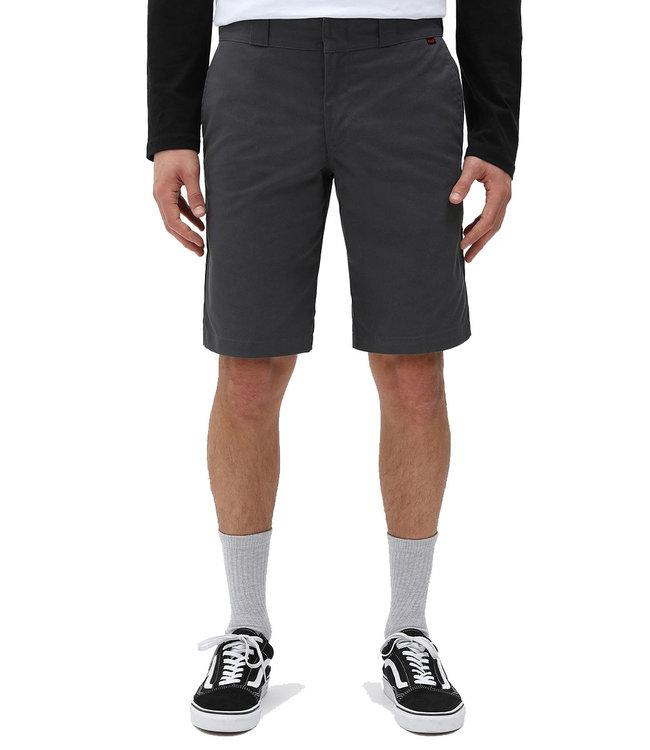 DICKIES Dickies I Slim Straight Work Flex Shorts - Charcoal Grey