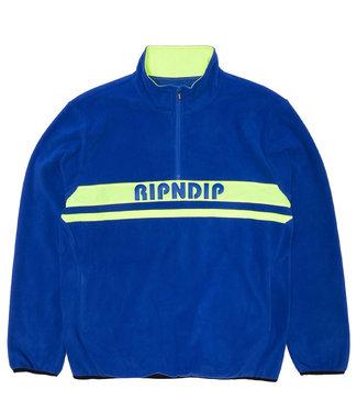 RIPNDIP Baja Half Zip Brushed Fleece - Royal Blue