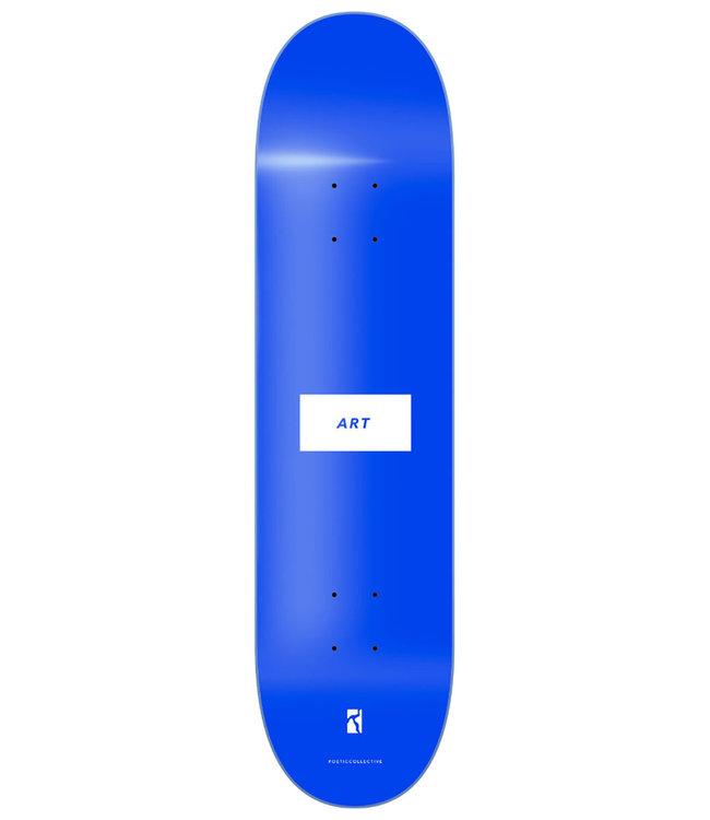 POETIC COLLECTIVE ART Deck Blue - 8.0