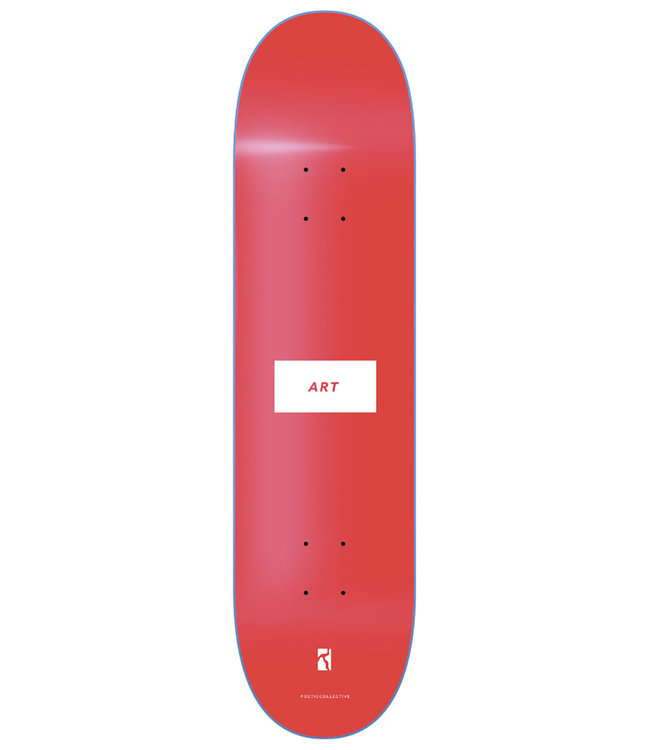POETIC COLLECTIVE ART Deck Red - 8.25